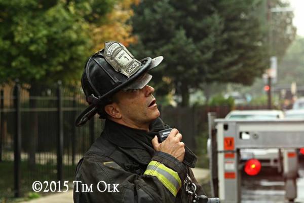 Chicago firefighter
