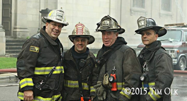 Chicago firefighers
