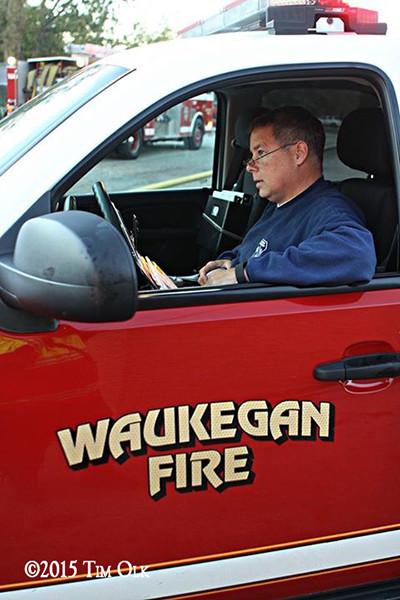 fire scene incident commander