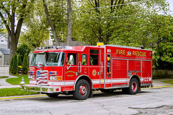La Grange Park FD Engine 1221
