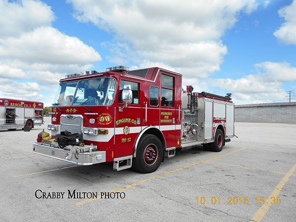 Milwaukee FD fire engine