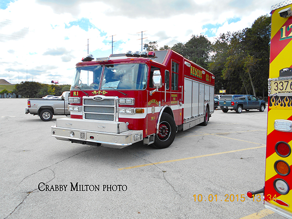 Milwaukee FD rescue squad