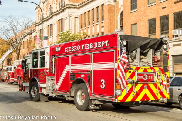 Cicero FD Dash CF PUC fire engine