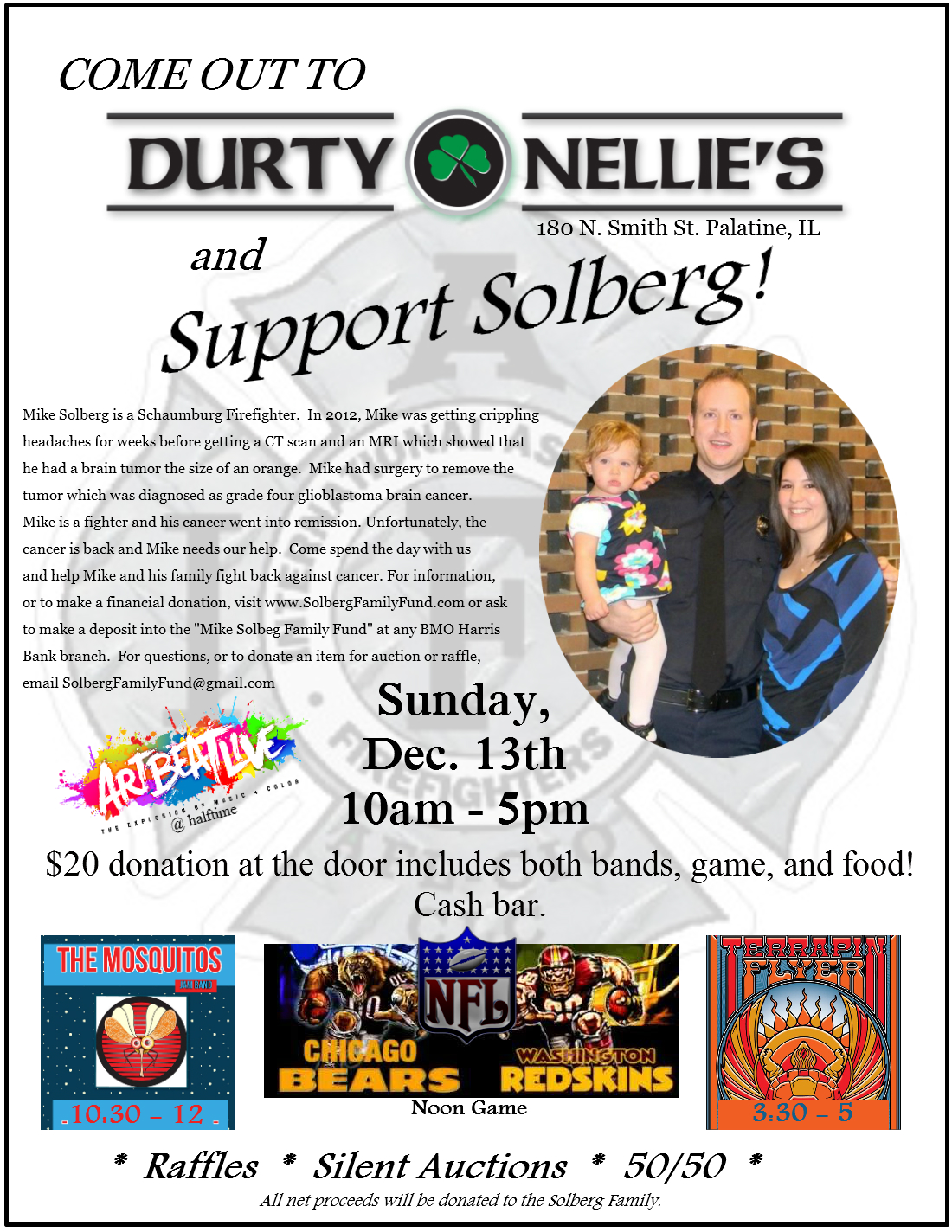Solberg benefit flyer