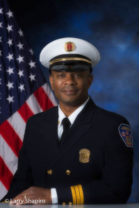 Waukegan FD Battalion Chief Georges Bridges, Jr.
