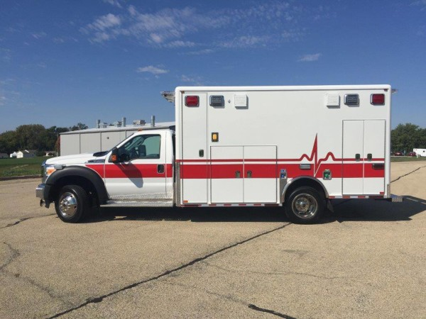 Elk Grove Village ambulance