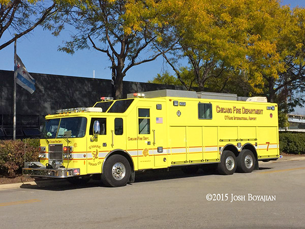 Chicago FD O'Hare Airport squad