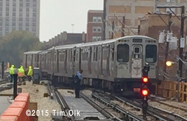 CTA train derails in Chicago