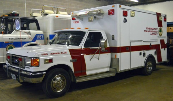 EMA equipment truck
