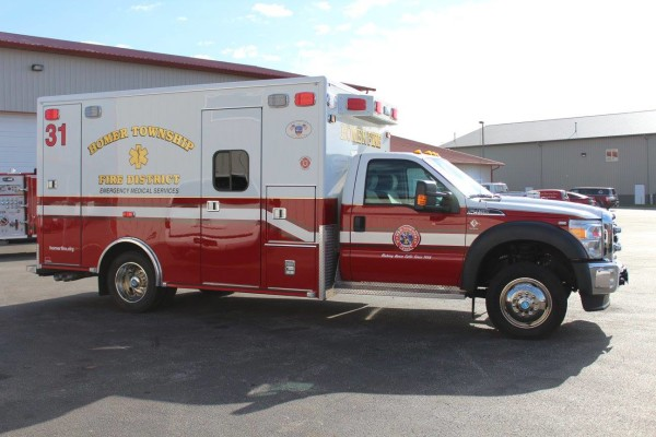 Homer Township FPD Ambulance 31