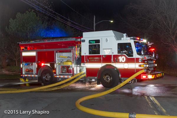 Pierce Impel PUC at fire scene