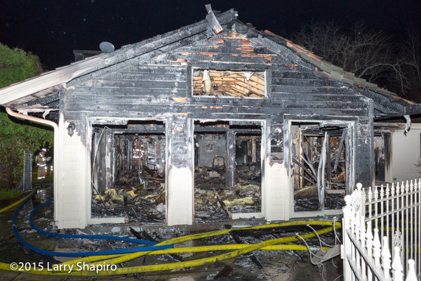 house fire aftermath