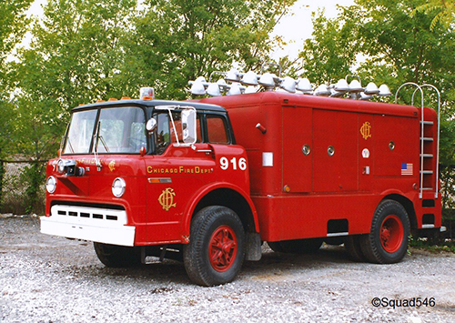 Chicago FD Light Wagon 9-1-6