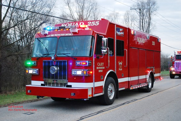 Cary FD rescue squad