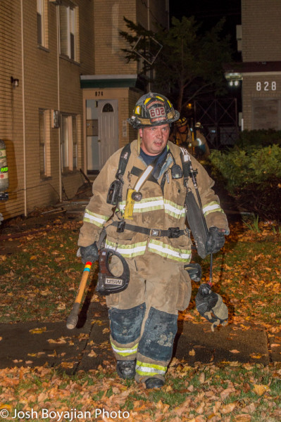 Oak Park firefighter
