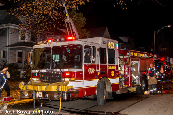 Oak Park fire engine