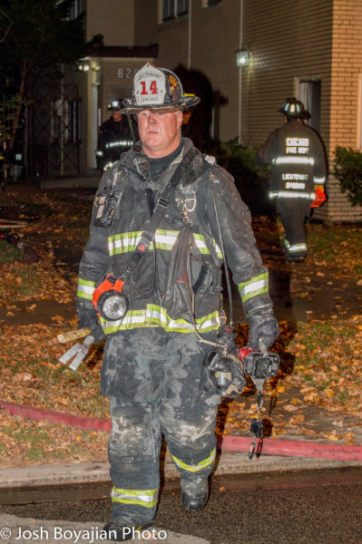 Chicago firefighter