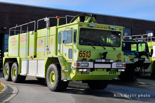 Oshkosh ARFF at O'Hare Airport