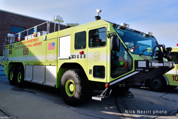Oshkosh Striker ARFF at O'Hare Airport
