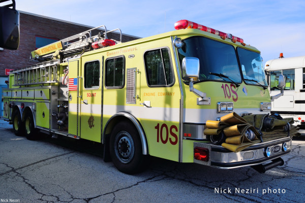Chicago FD reserve engine at O'Hare