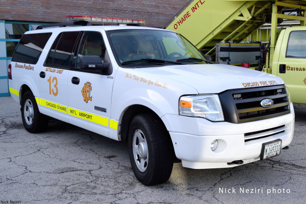 Chicago FD Ford Expedition
