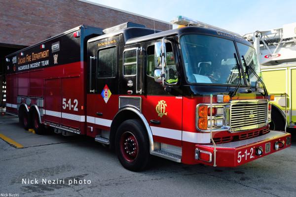Chicago FD Haz Mat Unit 5-1-2