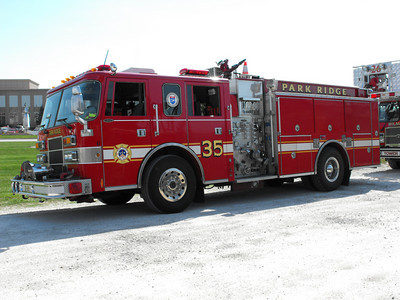 Park Ridge FD fire engine