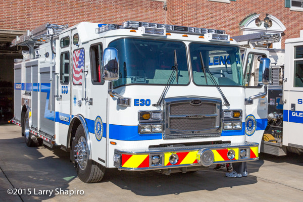 Glencoe Public Safety Department Engine 30