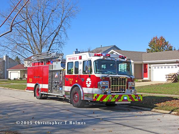 Fermilab fire engine