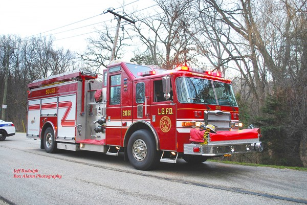 lake Geneva WI FD fire engine