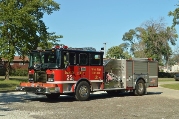 Seagrave fire engine