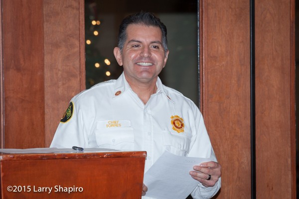 Northbrook Fire Chief Jose Torres