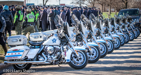 Chicago Police Department motorcycles