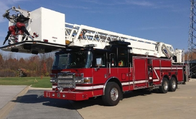 Frankfort FPD tower ladder for sale
