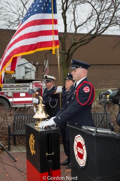 Chicago FD Stockyards Fire Memorial anniversary