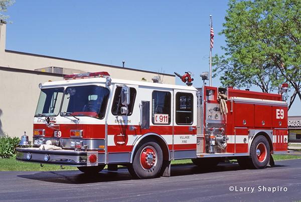 Former Elk Grove Village FD fire engine