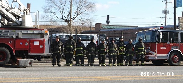 Chicago FD LODD funeral