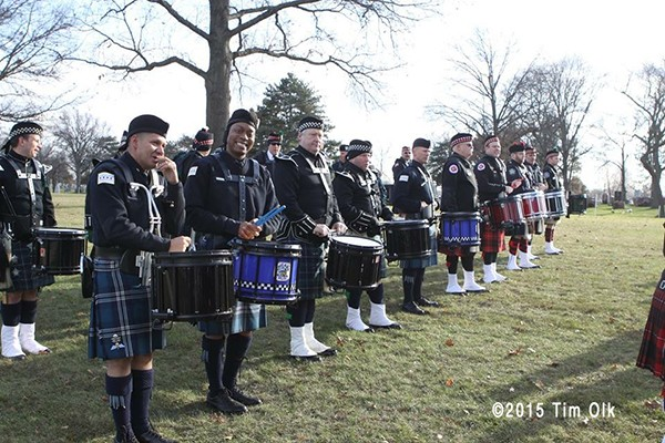 Chicago Police Department Pipes and Drums