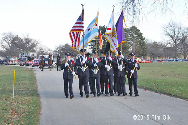 Chicago FD honor guard