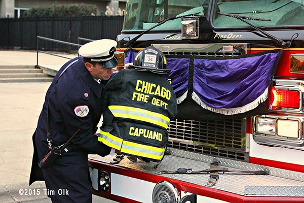 funeral for Chicago Firefighter/Paramedic Daniel Capuano
