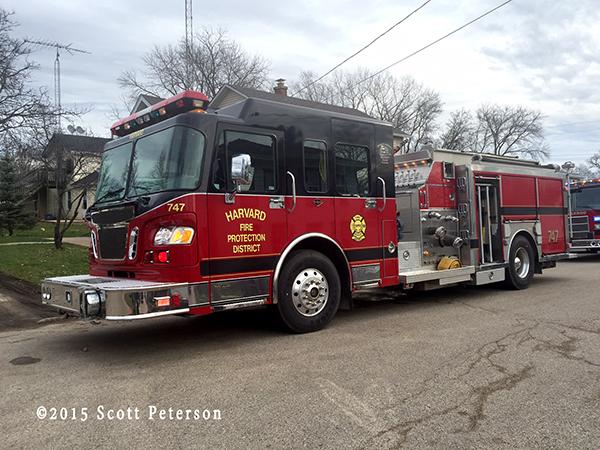 Marengo FPD fire engine