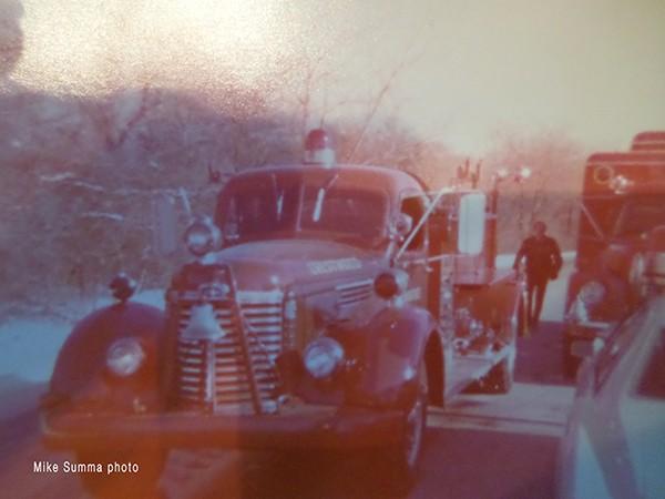 1978 fire scene