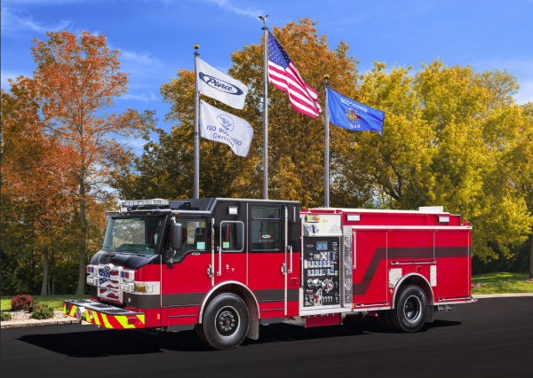 New fire engine for the Rolling Meadows Fire Department