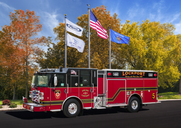 2015 Pierce Enforcer PUC for Lockport Engine 5