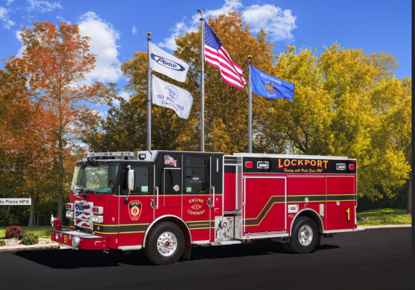 2015 Pierce Enforcer PUC for Lockport Engine 1