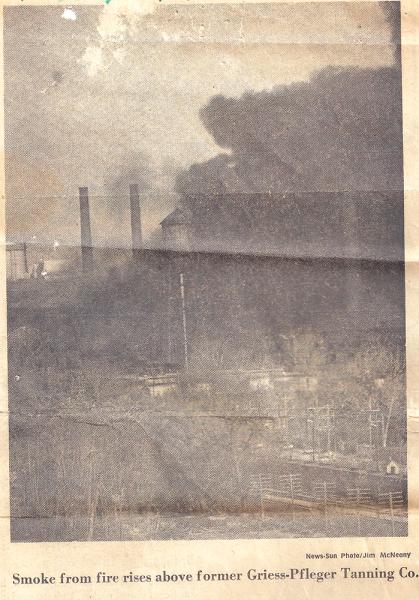 Giess-Pfleger Tanning Company Fire, Waukegan