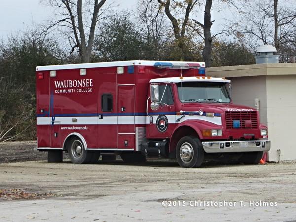 former Oswego FPD ambulance