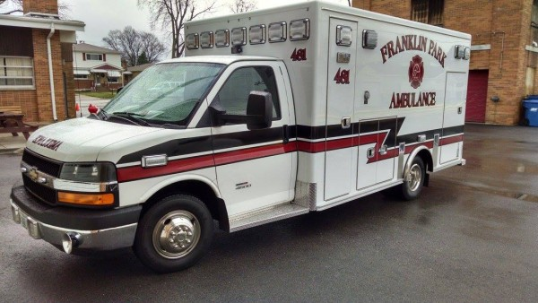 Franklin Park FD ambulance