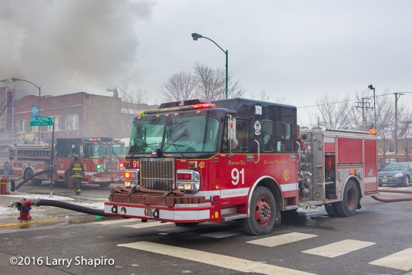 Chicago FD Engine 91
