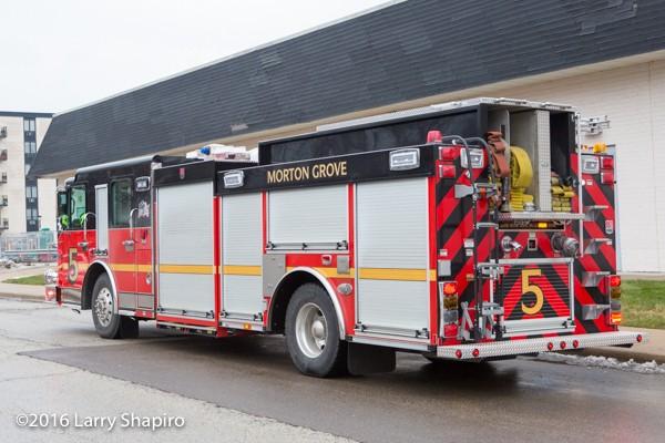 Morton Grove Engine 5 Smeal Fire Apparatus